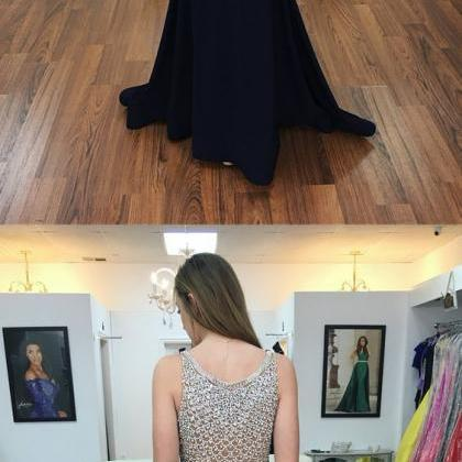 prom dress, black mermaid long prom..