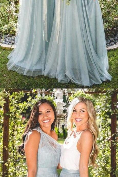 wedding party dresses, long bridesmaid dresses, simple bridesmaid dresses, M3575