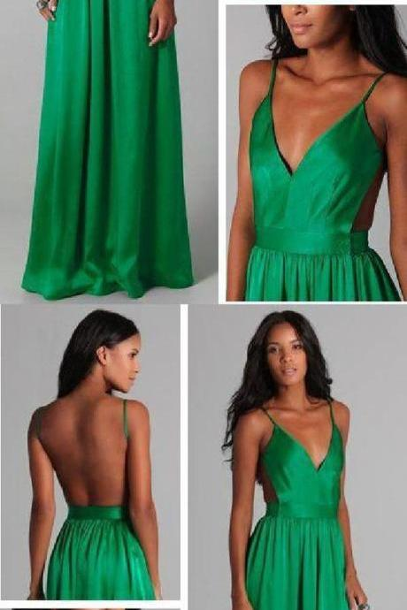 Open Back Prom Dress, Prom Dresses, Evening Dresses, Modest Prom Dress M4715