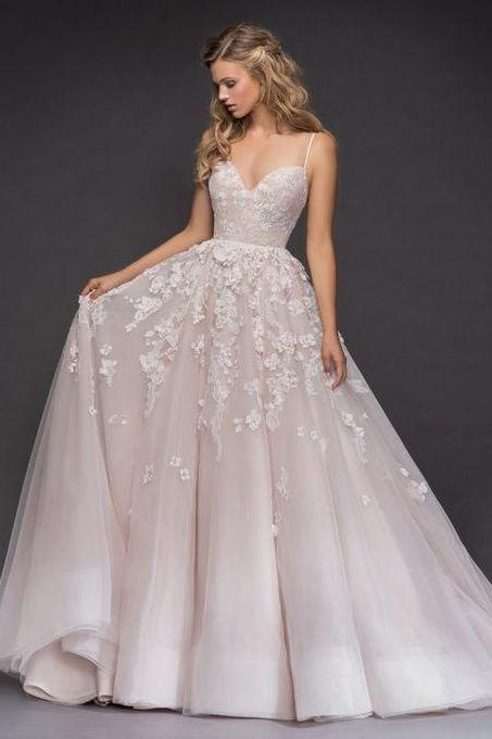 stunning wedding sexy luxury evening appliques Evening stunning sexy Wedding Dress M6066