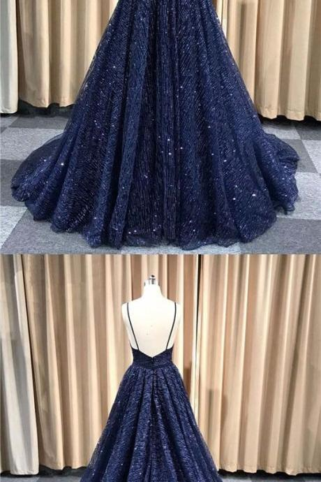 navy blue long dress lace prom dress prom dresses cheap,beautiful prom dresses M8062