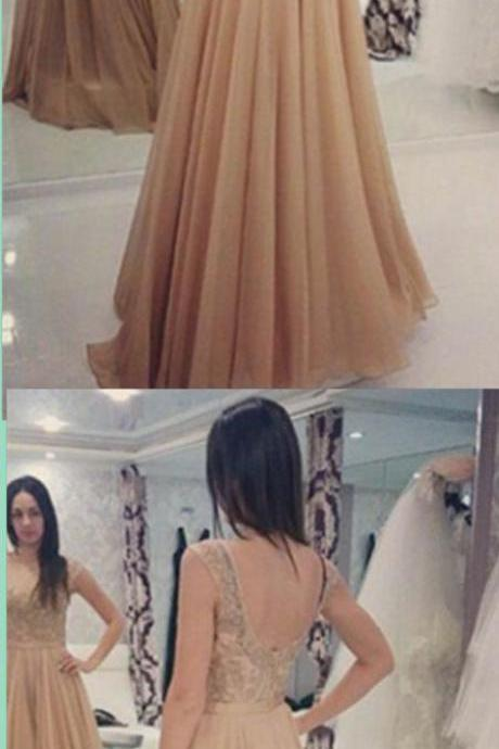 New Arrival Evening Dress,Elegant Formal Evening Gown,Open Back Prom Dress,Formal Gown,2017 Prom Dresses