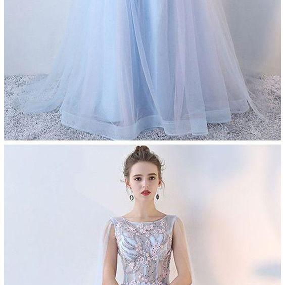 A-Line Prom Dresses, Prom Dresses Simple, Prom Dresses Long M4647