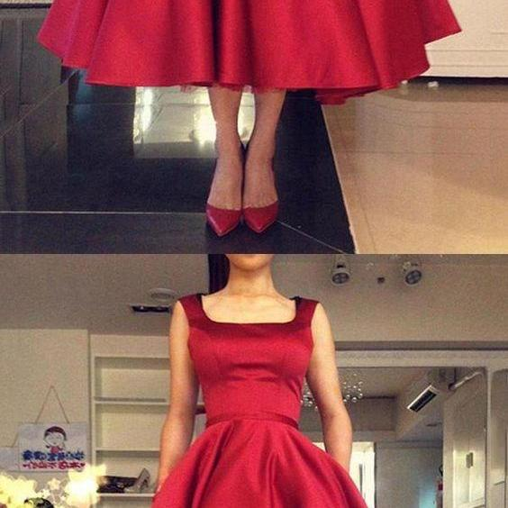 Prom Dresses Long, Cheap Prom Dresses, Prom Dresses Red, Prom Dresses 2018 M4648
